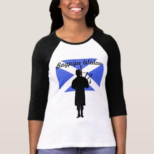 バグパイプの寡婦 Tシャツ