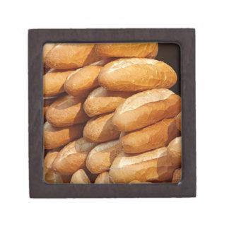 バゲット、行商人による通りの販売のためのパン、 ギフトボックス
