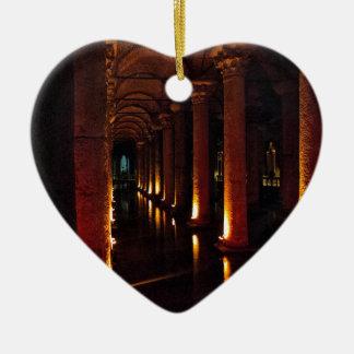 バシリカ会堂の水槽3 セラミックオーナメント
