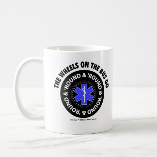 バスの車輪-タイヤ#2 コーヒーマグカップ