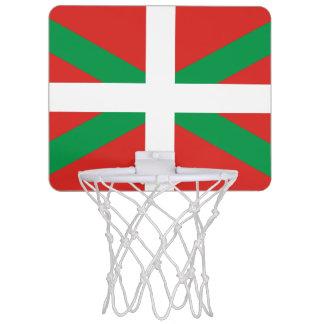 バスクの国の小型バスケットボールのゴールの旗 ミニバスケットボールゴール