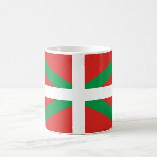 バスクの旗のマグ コーヒーマグカップ