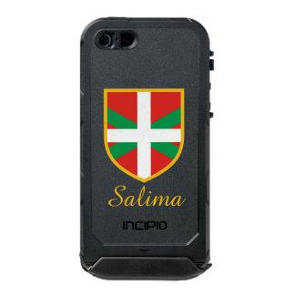 バスクの旗 ウォータープルーフiPhone SE/5/5sケース