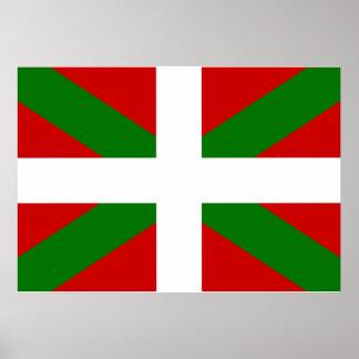 バスクの旗 ポスター