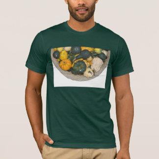 バスケットのひょうたんが付いているワイシャツ Tシャツ