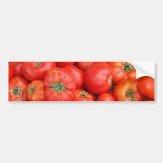 バスケットのトマト バンパーステッカー