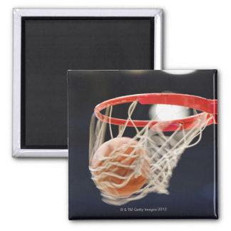 バスケットのバスケットボール マグネット