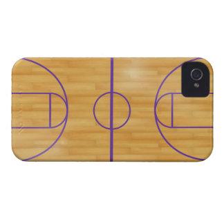 バスケットの球裁判所 Case-Mate iPhone 4 ケース