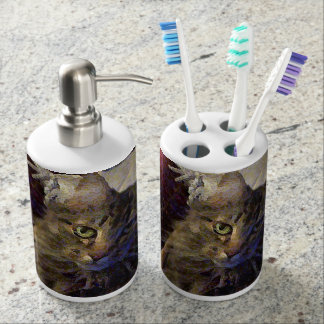 バスケットの美しい虎猫のメインのあらいぐまの子猫猫 バスセット
