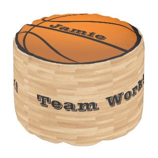 バスケットボールあなたの一流のFootstoolの男の子の部屋の装飾 プーフ