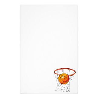 バスケットボールたが 便箋