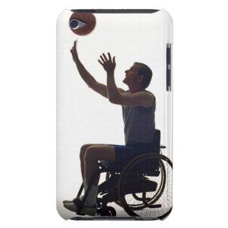 バスケットボールと遊ぶ車椅子の人 Case-Mate iPod TOUCH ケース