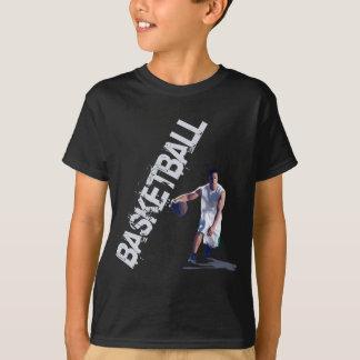バスケットボールのしたたり Tシャツ