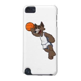 バスケットボールのオオカミ iPod TOUCH 5G ケース
