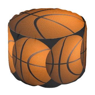 バスケットボールのオットマン ラウンドクッション