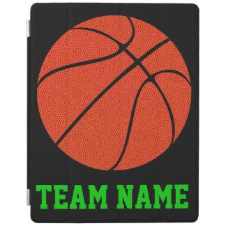 バスケットボールのカスタムなチーム名前のタブレットのカバー及び箱 iPadスマートカバー