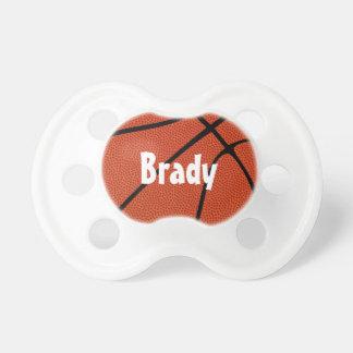 バスケットボールのカスタムなベビーの名前の調停者 おしゃぶり