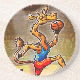 バスケットボールのキリン コースター