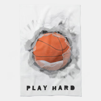 バスケットボールのギア キッチンタオル