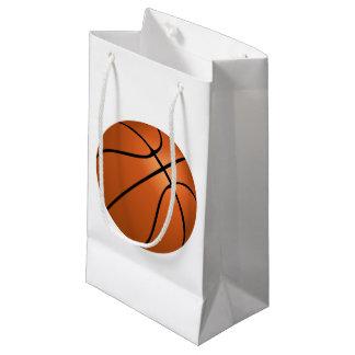 バスケットボールのギフトバッグ スモールペーパーバッグ