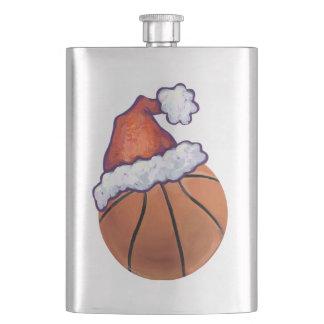 バスケットボールのクリスマス フラスク