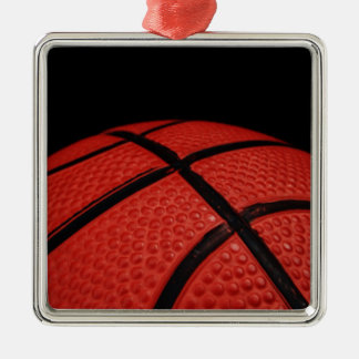 バスケットボールのクローズアップのスポーツチーム メタルオーナメント