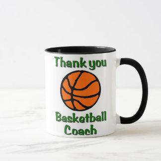 バスケットボールのコーチありがとう マグカップ