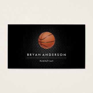 バスケットボールのコーチの名刺 名刺