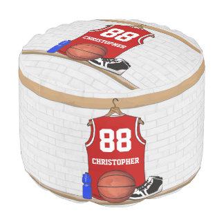 バスケットボールのジャージーのmomento プーフ