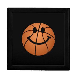 バスケットボールのスマイリーフェイス ギフトボックス