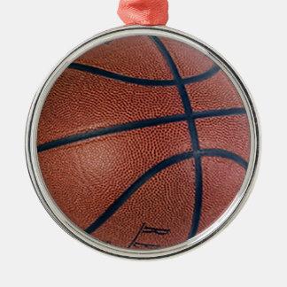 バスケットボールのスーパースター メタルオーナメント