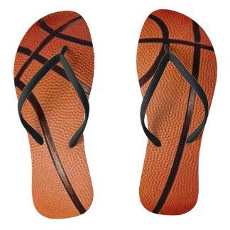 バスケットボールのデザインのビーチサンダル ビーチサンダル