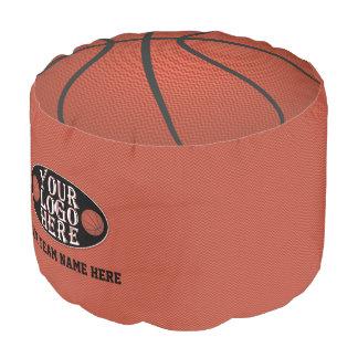 バスケットボールのノベルティはあなたのロゴのチーム名前を遊ばします プーフ