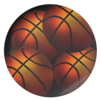 バスケットボールのプレート プレート