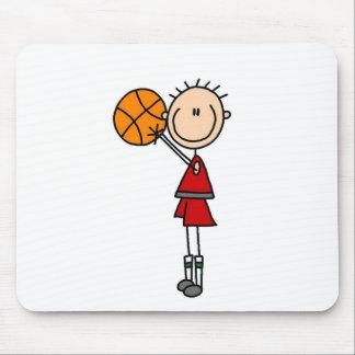 バスケットボールのマウスパッドを撃つこと マウスパッド