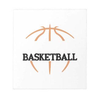 バスケットボールの一流の低下 ノートパッド