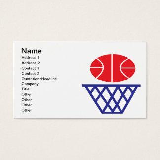 バスケットボールの印 名刺