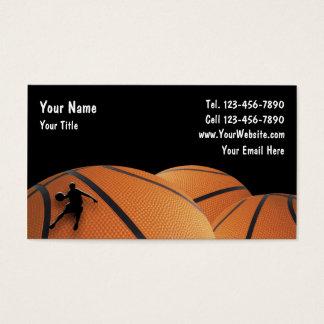 バスケットボールの名刺 名刺