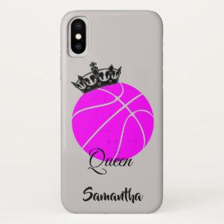 バスケットボールの女王のiphone Xの場合 iPhone X ケース