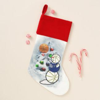 バスケットボールの恋人のクリスマス クリスマスストッキング