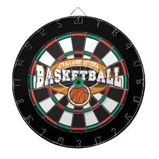 バスケットボールの態度 ダーツボード
