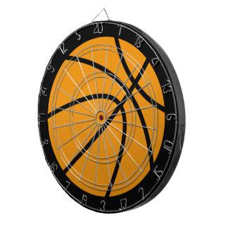 バスケットボールの投げ矢板 ダーツボード