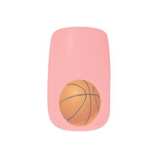 バスケットボールの球、チーム・スポーツ ネイルアート