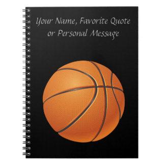 バスケットボールの球、チーム・スポーツ ノートブック