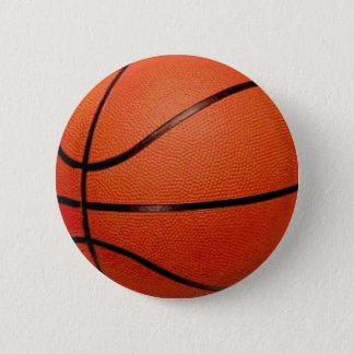 バスケットボールの球 5.7CM 丸型バッジ
