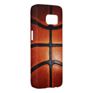 バスケットボールの球 SAMSUNG GALAXY S7 ケース