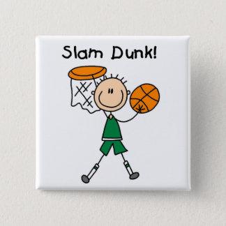 バスケットボールの確実のTシャツおよびギフト 缶バッジ