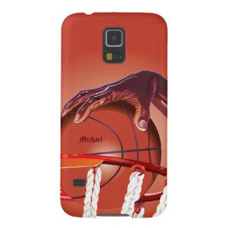 バスケットボールの確実ポイントSamsung S5の例 Galaxy S5 ケース