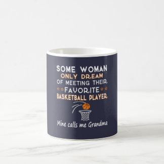バスケットボールの祖母 コーヒーマグカップ