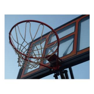 バスケットボールの網 ポストカード